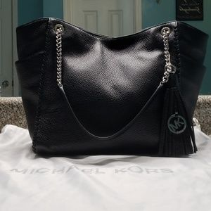 NWT Michael Kors LARGE Whipped Chelsea Tote